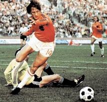 Cruijff, l'artisan du football total Enfance