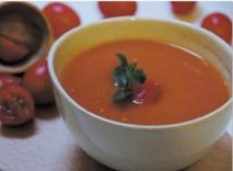 Recette : Velouté de tomates