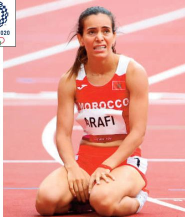 Rabab Arafi, entre autres athlètes marocains, rejoint le contingent des éliminés