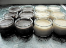 Recette : Danette au chocolat et à la vanille maison