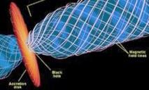 Trou noir : un immense tourbillon de matière filmé par Hubble