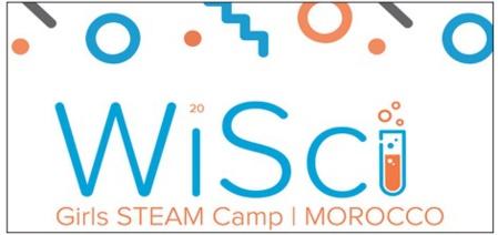 """Le programme de formation """"WiSci girls STEAM camp """" à distance du 9 au 20 août"""