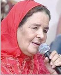 Hommage posthume à Safi à l'artiste Fatima Hamounia