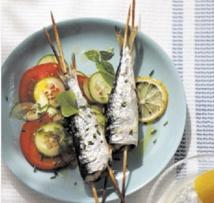 Recette : Brochettes de sardines au curry