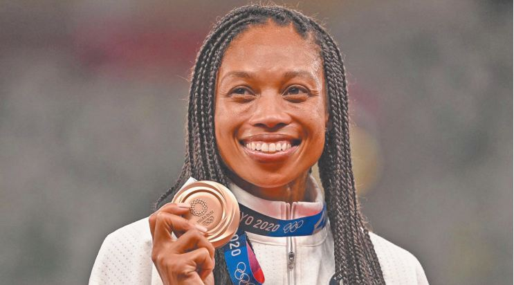Allyson Felix, championne à plus d' un titre