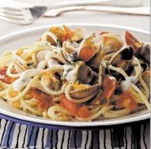 Recette : Spaghettis aux coques