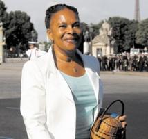 ChristianeTaubira Garde des Sceaux et symbole de la diversité en France