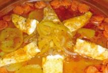 Recette : Filets de poisson aux petits légumes