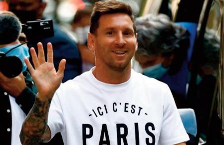 La première journée française de Messi le Parisien