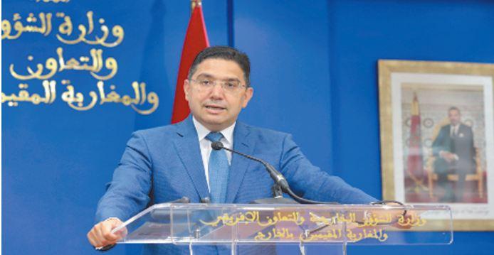 Nasser Bourita : La visite du ministre israélien des AE au Maroc traduit l'engagement commun à concrétiser les relations bilatérales