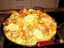 Recette : Paella express