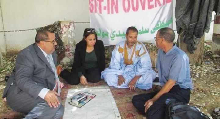 Une délégation de l'USFP à Nouakchott pour exprimer sa solidarité avec Mustapha Salma