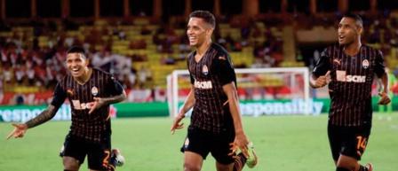 Ligue des champions: Le Shakhtar prend une option sur Monaco