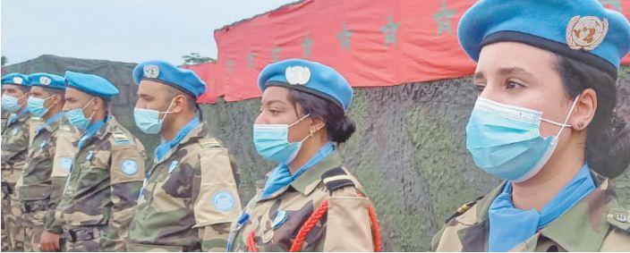 Des militaires marocains distingués pour leur contribution au retour de la paix en république centrafricaine
