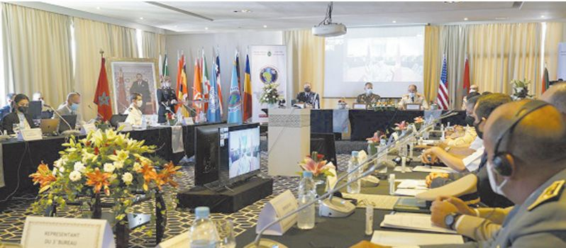 """Organisation conjointe par les FAR et AFRICOM d'""""Africa Endeavor 2021 """""""