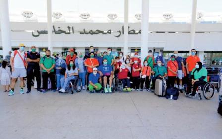 Les paralympiens marocains: De l'ambition à se surpasser au pays du Soleil Levant