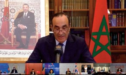 Habib El Malki : La Chambre des représentants veut apporter une valeur ajoutée à l' action de l'Assemblée interparlementaire de l'ASEAN