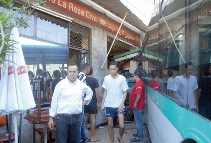 Un autobus déchaîné fait 15 blessés au centre de Casablanca