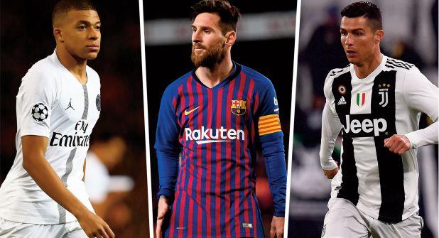 Après Messi et Ronaldo, Mbappé en 3ème étoile filante ?