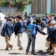 Coup d'envoi  à Khénifra de l'Opération «Un million de cartables»