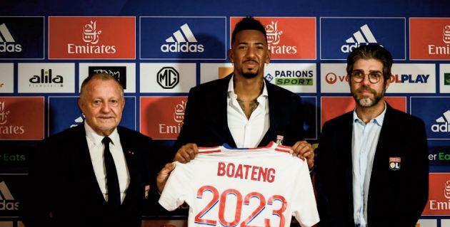 Avec Boateng, Lyon conclut un mercato d'opportunités
