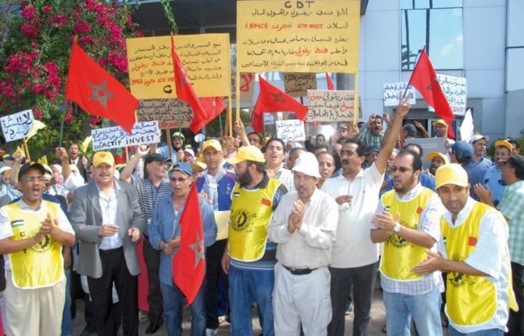 Des sit-in de protestation à Casablanca