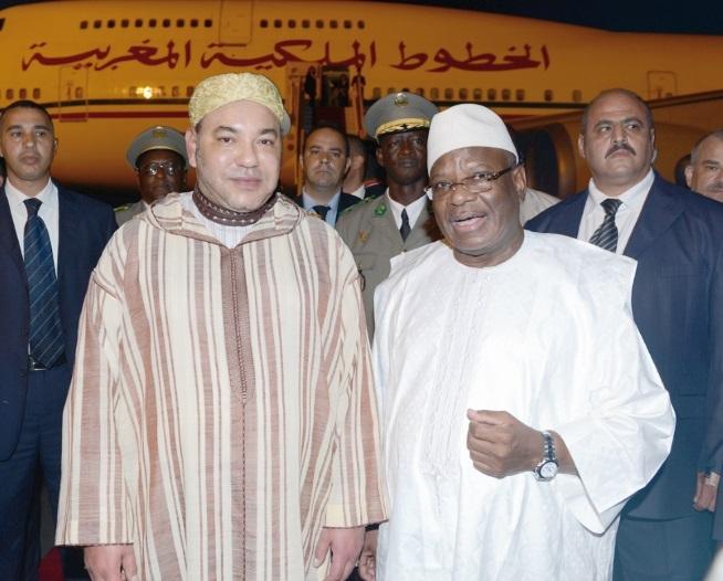 Participation Royale à l'investiture du Président malien