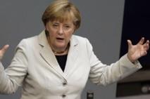 """Merkel rêve d'une """"Grande coalition"""" après les législatives"""