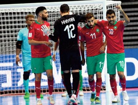Coupe du monde de futsal: Bonne entame de l'équipe nationale
