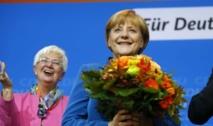 Angela Merkel triomphe aux élections