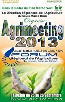 Agadir accueillera le premier forum régional «Agrimeeting»