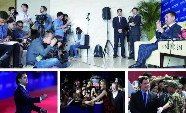 """L'homme le plus riche de Chine lance sa """"cité du cinéma"""""""