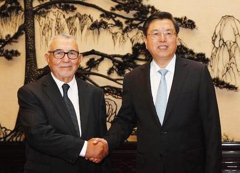 Visite officielle d'Abdelouahed Radi en Chine