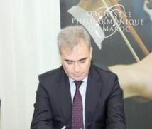 Entretien avec  le président de l'Orchestre phillarmonique du Maroc