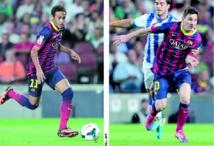 Le duo Messi-Neymar fonctionne à merveille