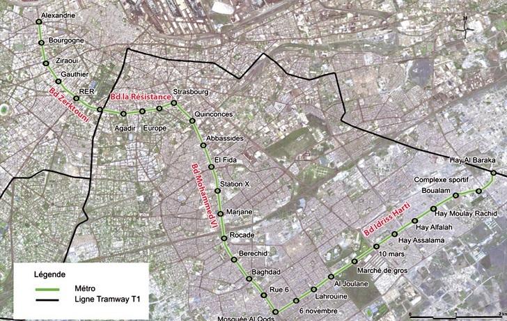 Casablanca aura bientôt son métro aérien