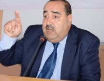 Conférence de presse de Driss Lachgar