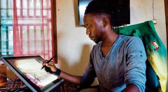 Au Cameroun, le numérique élargit l'horizon des artistes au monde entie