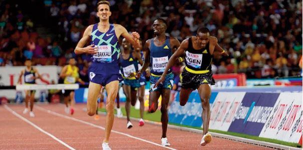 Meeting de Kip Keino d'athlétisme: Soufiane El Bakkali s 'impose sur le territoire kenyan