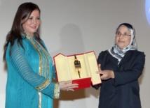Un trophée honorifique à l'actrice égyptienne Athar El Hakim
