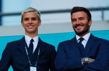 Romeo Beckham fait des débuts remarqués aux Etats-Unis