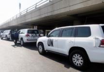 Nouvelles inspections pour les experts de l'ONU en Syrie