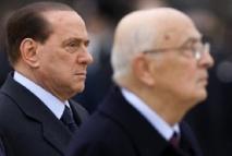 Tensions entre Berlusconi et Napolitano