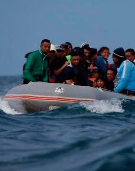 58 candidats à l'immigration clandestine secourus à Tan Tan