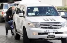 Les inspecteurs onusiens poursuivent leur mission en Syrie