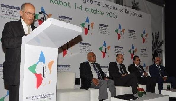 Fathallah Oualalou : La réunion du CGLU, un repère historique pour la démocratie locale