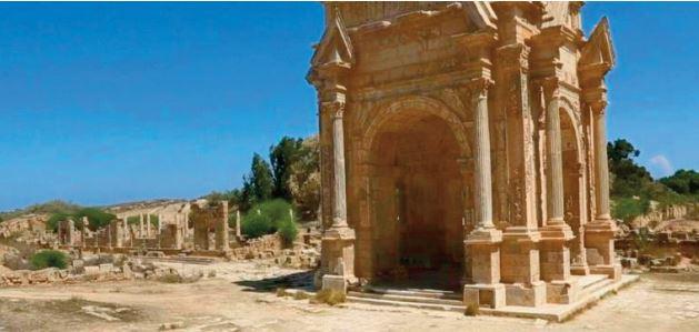 """Leptis Magna, la """"Rome d'Afrique"""" oublié"""