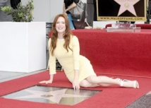 La star du cinéma US, Julianne Moore, distinguée à Hollywood
