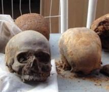 Découverte de crânes romains sous réseau ferroviaire à Londres