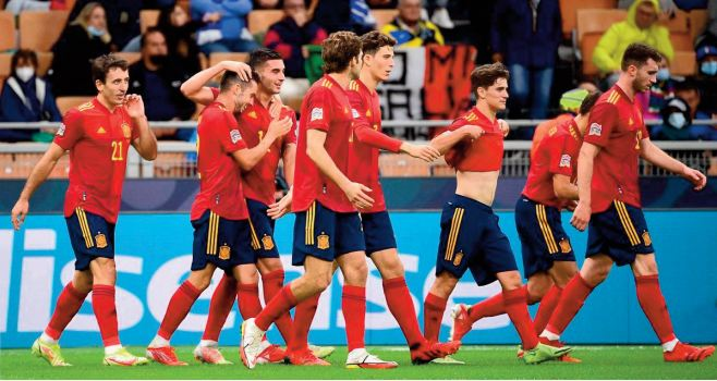 Ligue des nations: La Roja s'offre à San Siro la Squadra Azzura